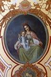 天堂的圣母玛丽亚女王/王后 库存照片