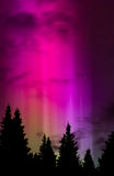 天堂的聚光灯3 免版税库存图片