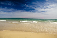 天堂般海滩 库存图片