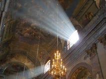 天堂般的光 库存图片