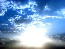 天堂般的天空 图库摄影