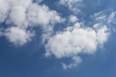 天堂般的天空 免版税库存照片