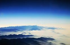 天堂般的天空 库存图片