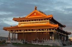 天堂般的女王佛教寺庙在Footscray,澳大利亚 库存图片
