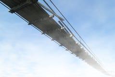天堂般的桥梁或方式对未知数 免版税库存图片