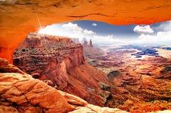 天堂般的视图世界 库存图片