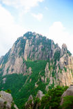 天堂般的资本峰顶(中国山峰) 图库摄影