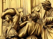 天堂著名的金门在佛罗伦萨,意大利 免版税库存照片
