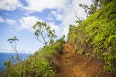 天堂路在夏威夷 免版税库存图片