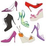 天堂鞋子 向量例证