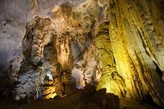 天堂洞,联合国科教文组织世界遗产 免版税图库摄影