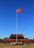 天安门广场在北京 库存照片
