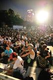 天安门广场拒付的纪念品 库存照片