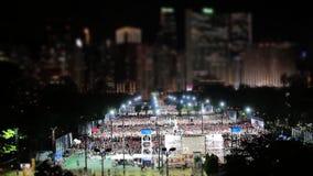 天安门的6月4日纪念品 股票录像