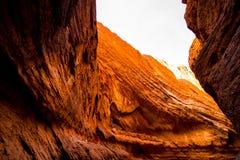 天山大峡谷全国地质公园 图库摄影