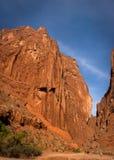 天山大峡谷全国地质公园 免版税库存照片