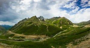 天山山风景在新疆,中国 免版税库存图片