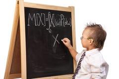 天才儿童 免版税库存图片