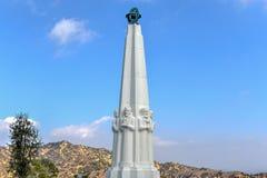 天文学家的纪念碑-洛杉矶,加利福尼亚 免版税库存图片