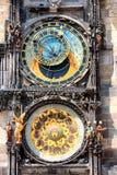 天文学时钟。 布拉格。 免版税库存照片