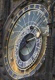 天文学时钟在布拉格 免版税库存图片