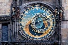 天文学时钟布拉格 库存图片