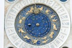 天文学时钟指示st 库存图片