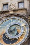 天文学时钟老城镇厅塔,布拉格 库存图片
