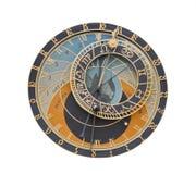 天文学时钟设计要素 免版税库存图片