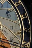 天文学时钟 免版税图库摄影