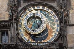 天文学时钟- Orloj在布拉格 免版税图库摄影