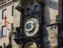 天文学时钟(Orloj)在老镇布拉格 免版税图库摄影