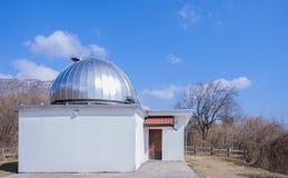 天文学观测所 库存图片