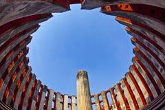 天文学观测所Jantar Mantar 图库摄影