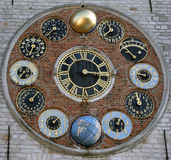 天文学clockworcks 图库摄影