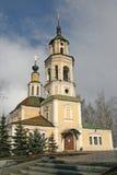 天文馆在前Nikolo-Kremlevskaya教会, 18世纪,弗拉基米尔,俄罗斯里 库存照片