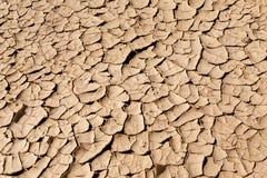 天旱和沙漠化 库存照片