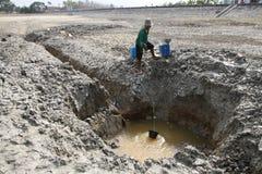 天旱在印度尼西亚 免版税库存图片