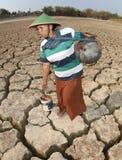 天旱在印度尼西亚 免版税库存照片