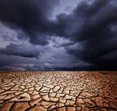 天旱地产 图库摄影