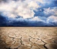 天旱地球 库存照片