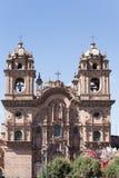 天时间的大教堂 免版税库存照片