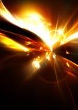满天星斗抽象幻想天空的空间 抽象背景 库存照片