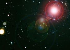 满天星斗的外层空间背景纹理 外层空间 免版税库存图片