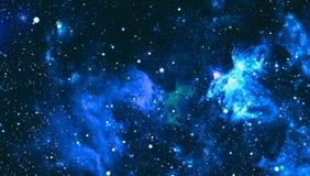 满天星斗的外层空间背景纹理 外层空间 库存照片