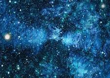 满天星斗的外层空间背景纹理 图库摄影