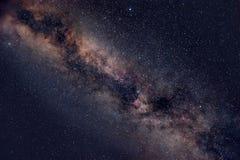 满天星斗的夜空 图库摄影