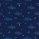 满天星斗的夜空 免版税库存图片