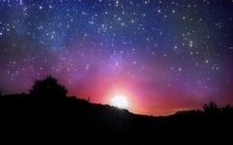满天星斗的天空