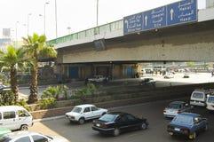 天桥街道-开罗-埃及 免版税库存图片